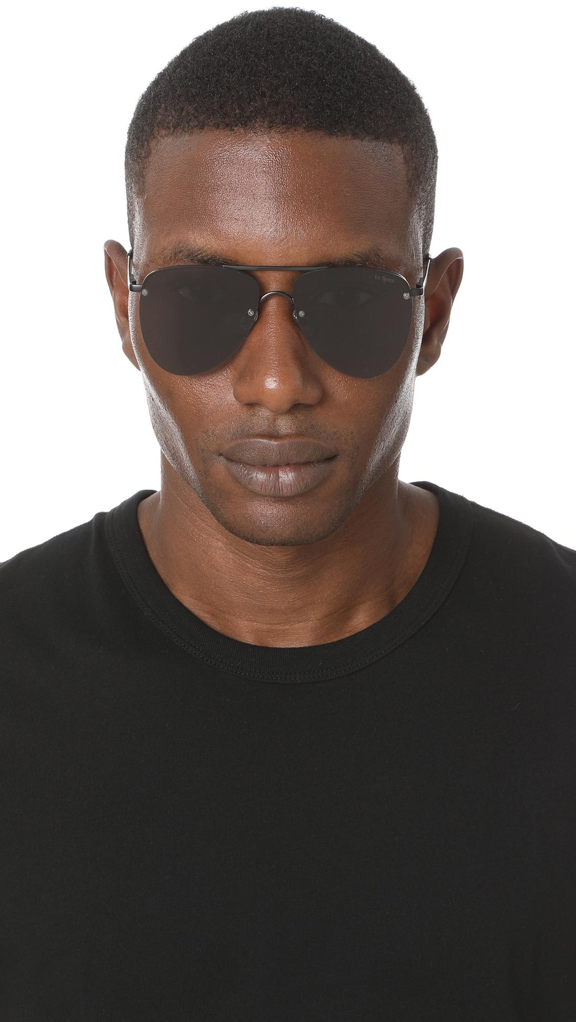 36a57dc68ee Le Specs - Black The Prince Sunglasses for Men - Lyst. View fullscreen