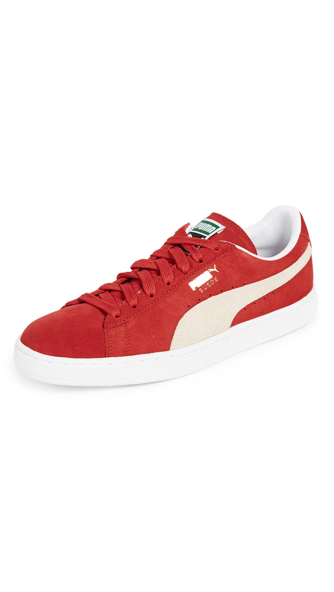 731ad79fdf5a Lyst - Puma Select Suede Classic Plus Sneakers in Red for Men