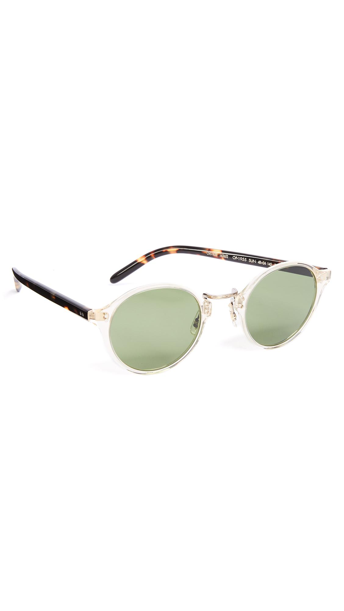 277f348afb0 Lyst - Oliver Peoples Op 1955 Sunglasses in Green for Men