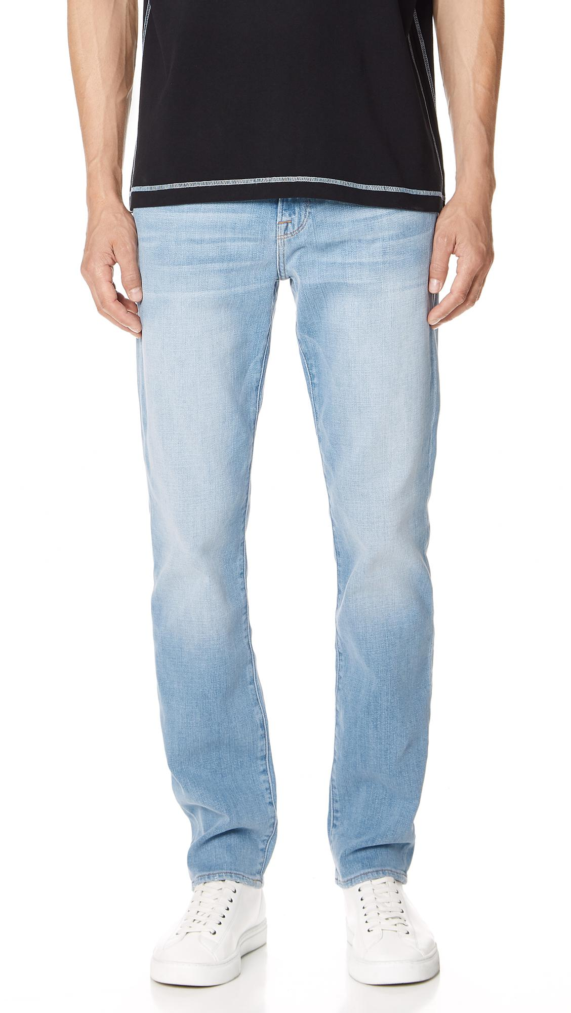 Great Deals Cheap Online FRAME L'Homme Straight Leg Jeans (Lake Lopez) Shop Outlet Store Sale Online Cheap Price Free Shipping N3Cnn9