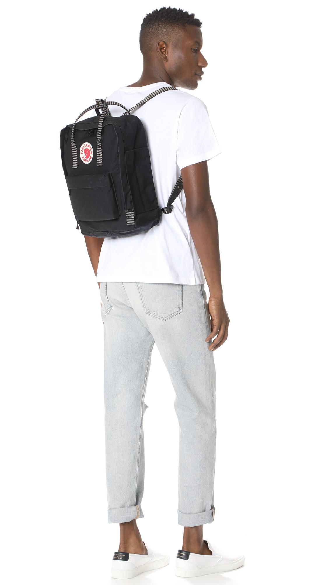 Fjallraven Backpack All Black Kanken No2 Full