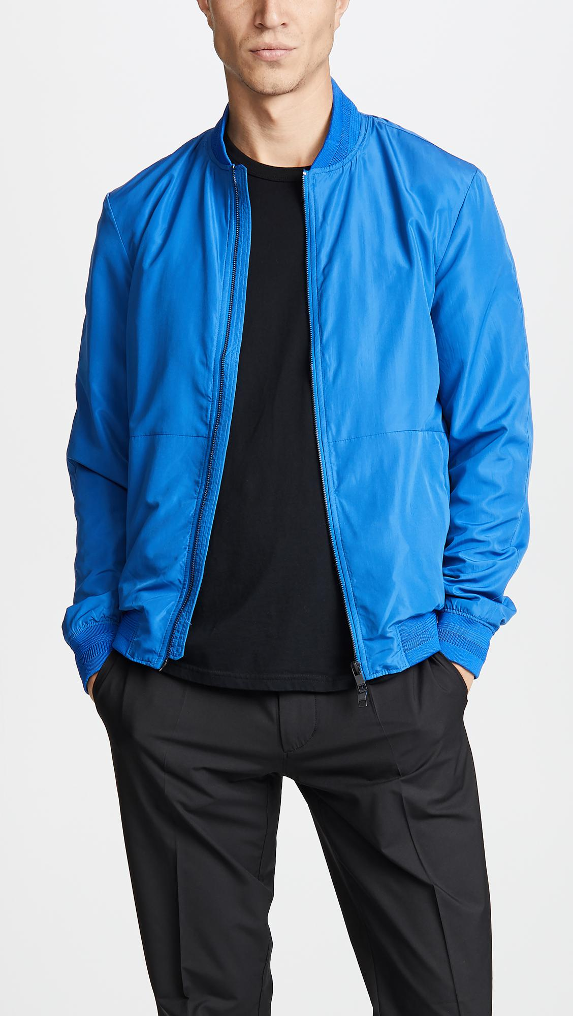 1ecbc68e6 J.Lindeberg Thom Gravity Jacket in Blue for Men - Lyst