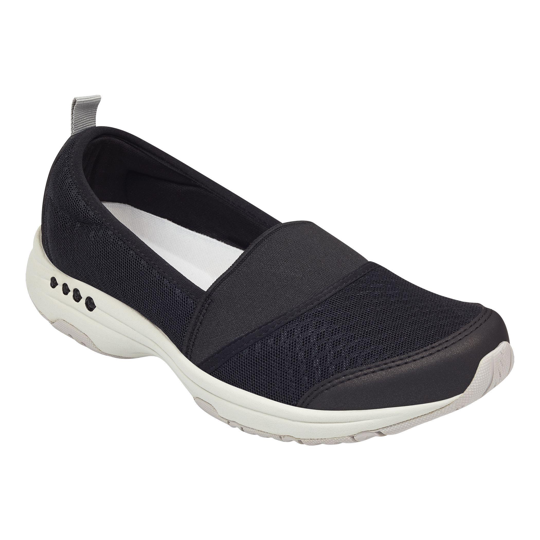 cbd05e4524fc Lyst - Easy Spirit Twist Slip-on Sneakers in Black - Save 58%