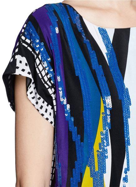 Dvf Tania u002ftori Striped Dresses On Sale Tania Stripe Print Dress