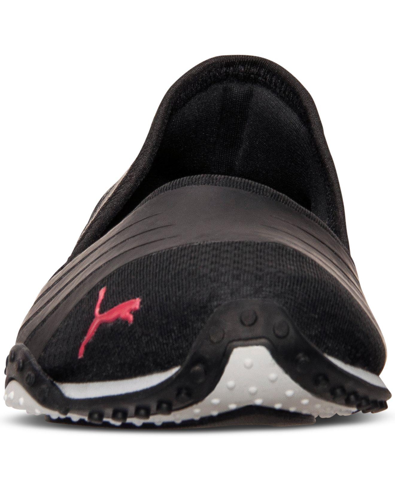 53db89a08fb Lyst - PUMA Women s Asha Alt 2 Casual Sneakers From Finish Line in Black