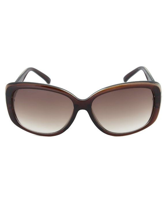 4430aafe46 Calvin klein R667s 204 Brown Square Sunglasses Size 58-15-135 in Brown