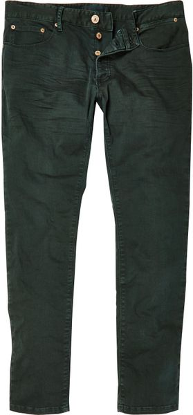 TheMogan Women's Basic Army Olive Green 5 Pocket Stretch Denim Skinny Jeans by TheMogan Only 1 left in stock - order soon.