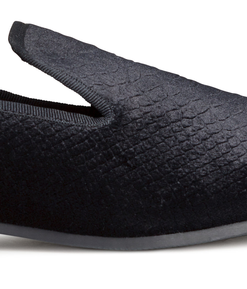 Velvet Loafers Shoes For Men