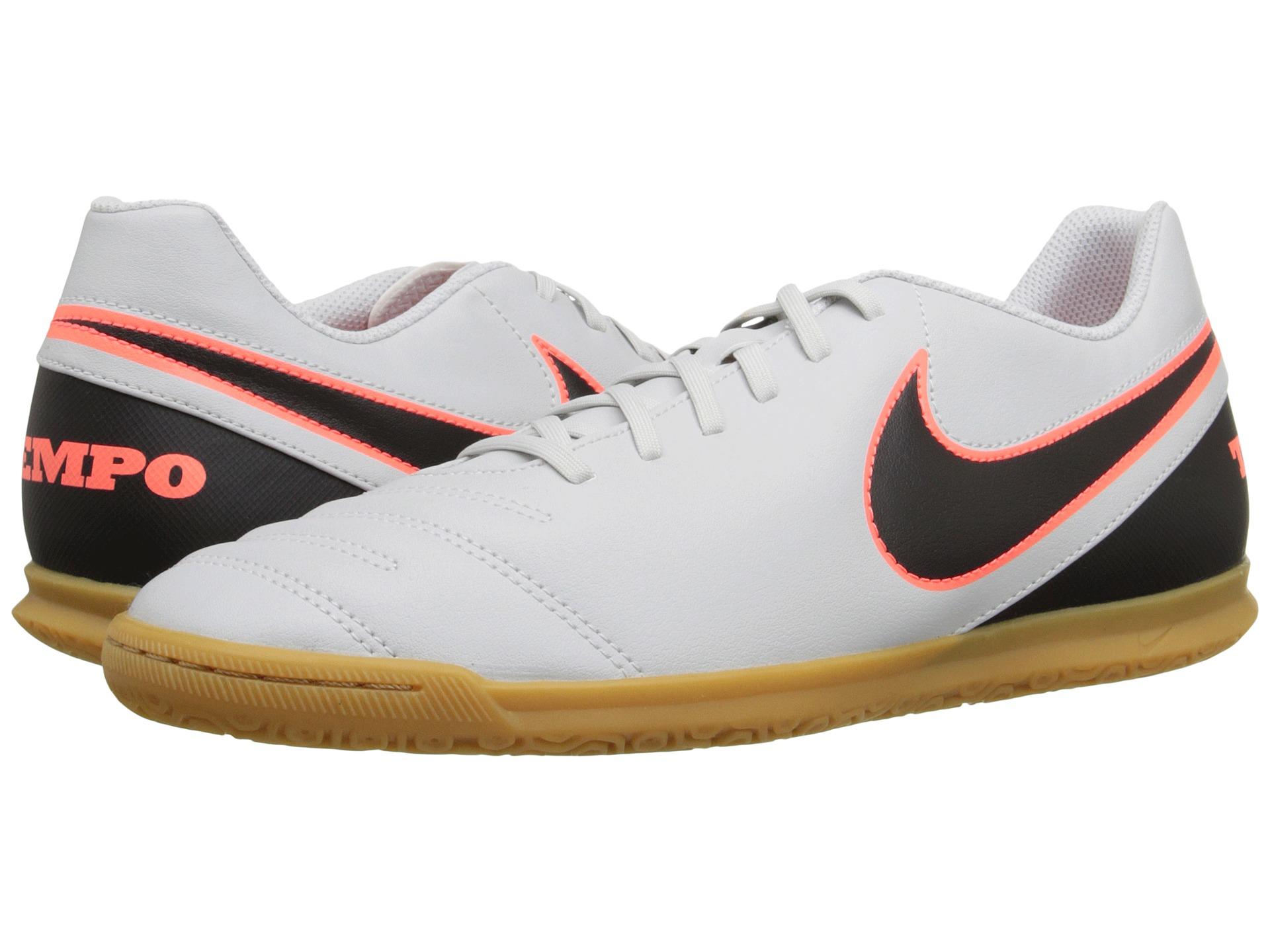 Nike Tiempo Rio Iii Ic in Black for Men (Pure Platinum Black Hyper Orange)   dcf2315e7