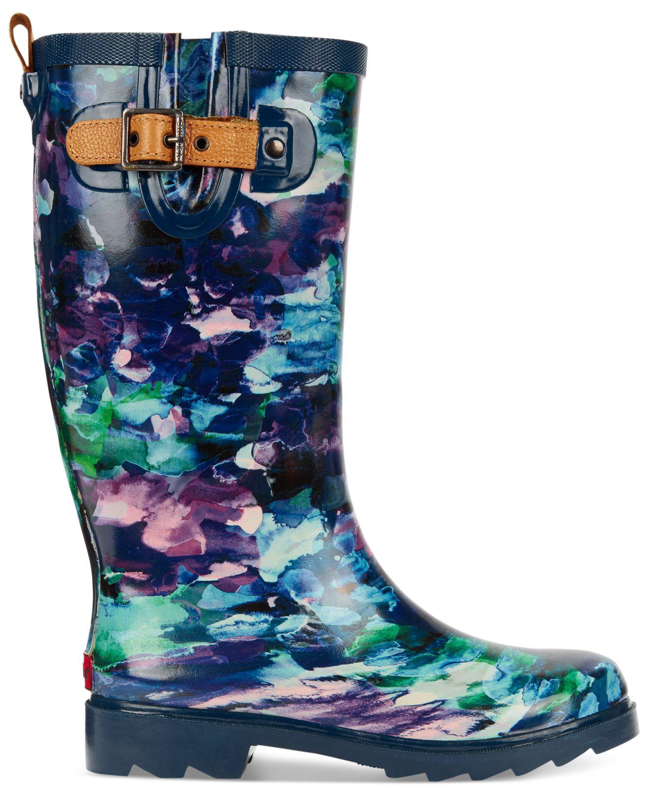 Chooka Print Tall Rain Boots | Lyst