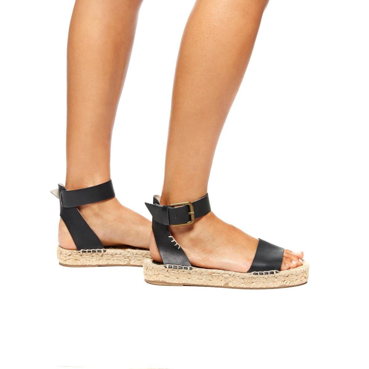 022803fb31b Lyst - Soludos Platform Open Toe Sandal in Black