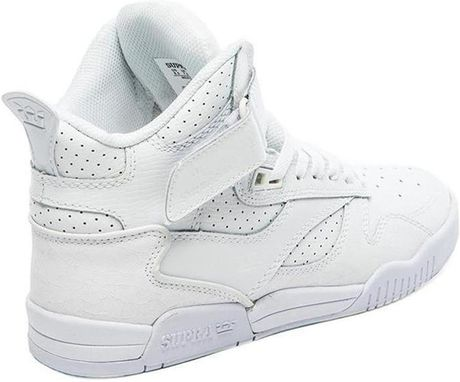 Greece Mens Supra Bleeker - Shoes Supra Bleeker White