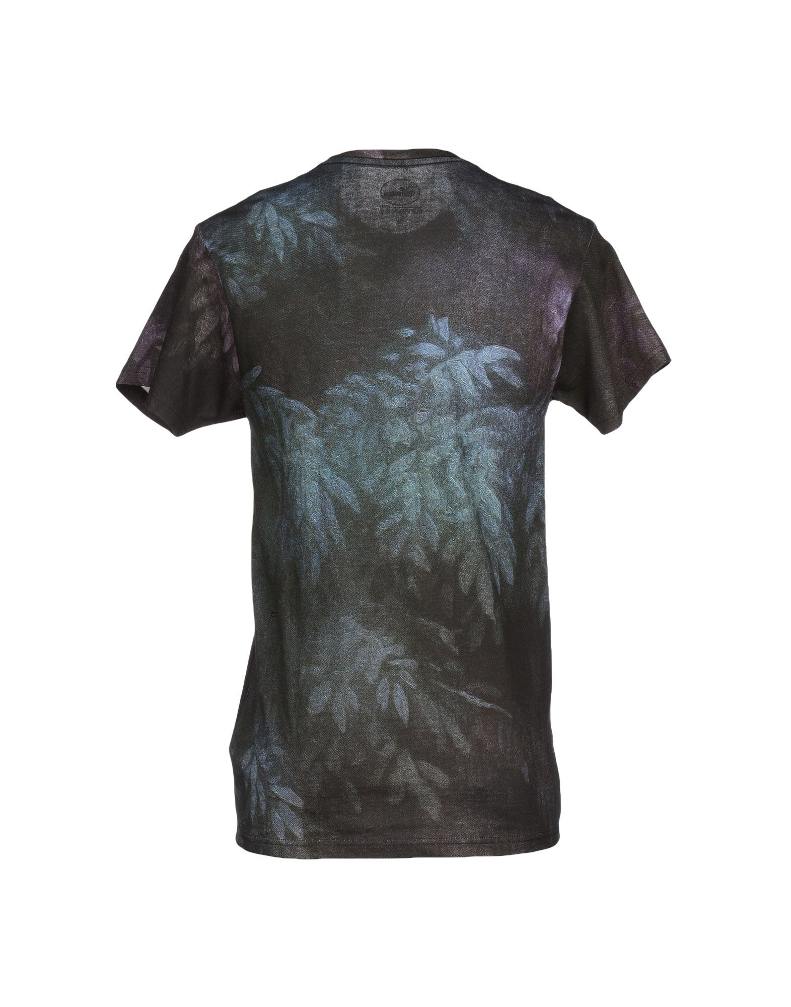 eleven paris t shirt in multicolor for men black lyst. Black Bedroom Furniture Sets. Home Design Ideas