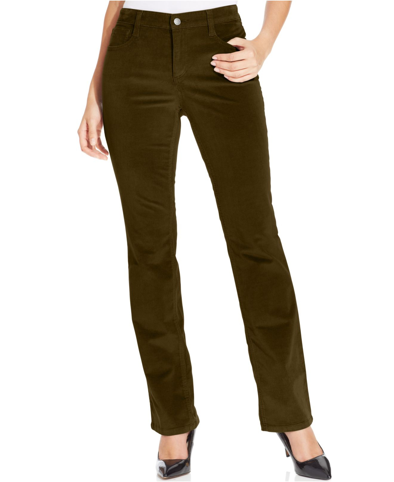 Jones new york Signature Petite Straightleg Corduroy Pants in ...