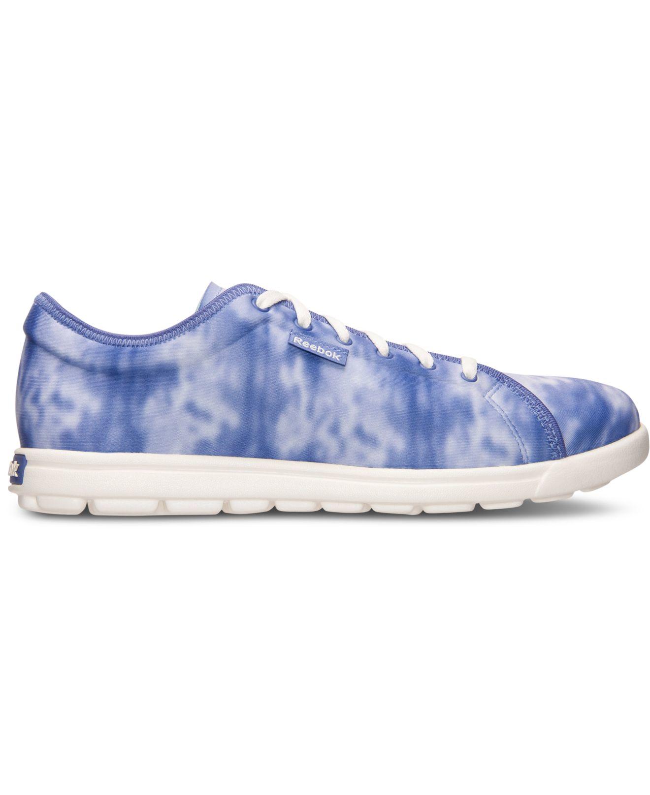 2160022fcf3 Lyst - Reebok Women s Skyscape Runaround 2.0 Walking Sneakers From ...