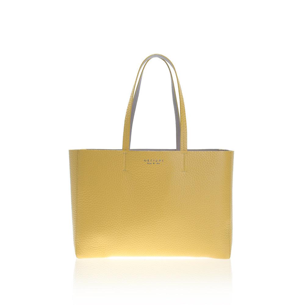 Brown shopping bag Orciani rAfIs03ar