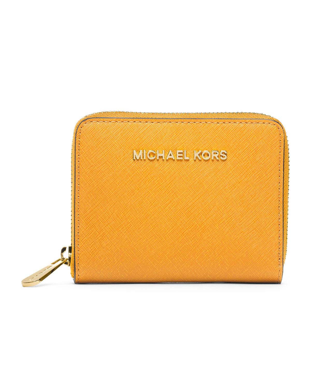 76677c34719c MICHAEL Michael Kors Medium Jet Set Travel Ziparound Wallet in ...