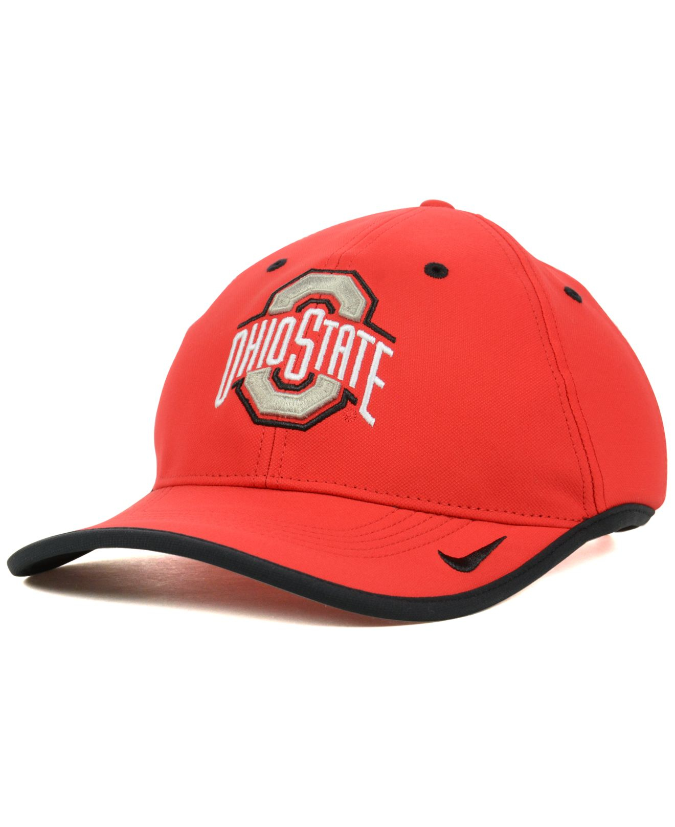 492aa5480f9 ... spain lyst nike ohio state buckeyes coaches dri fit cap in red for men  71937 0b633