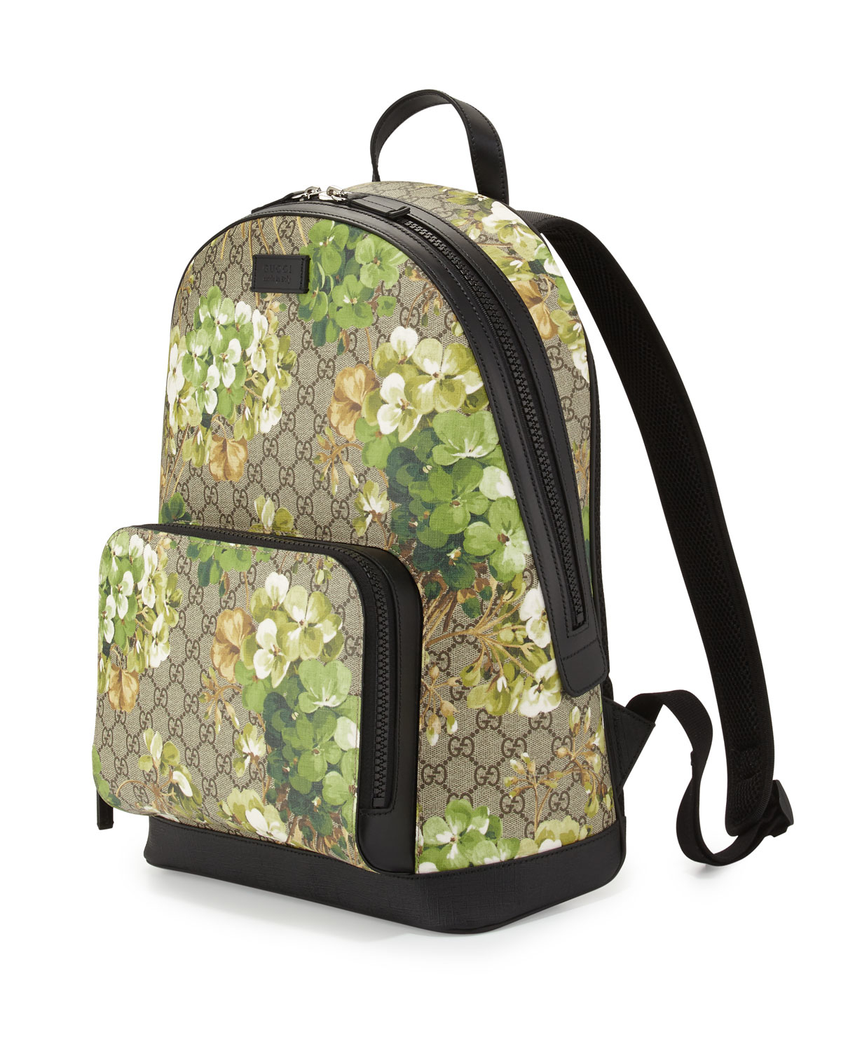 34502c357091 Gucci Gg Blooms Canvas Backpack in Blue - Lyst