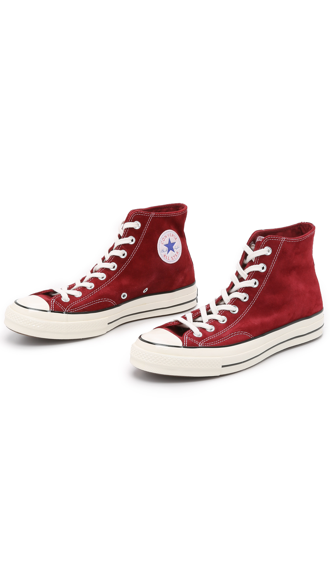 Lyst - Converse Chuck Taylor All Star  70s Suede High Top Sneakers ... 213211445