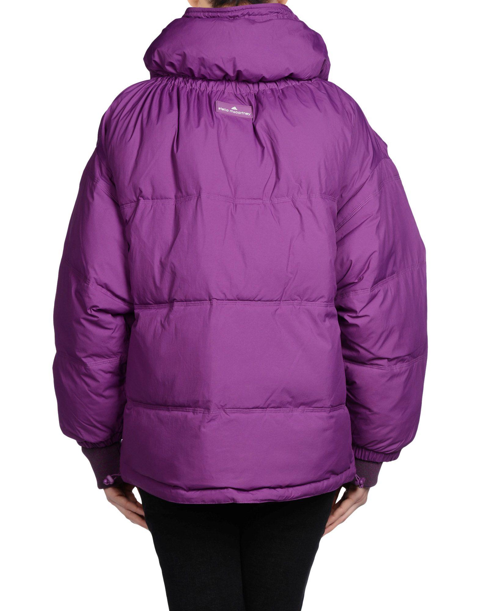 adidas by stella mccartney jacket in purple lyst. Black Bedroom Furniture Sets. Home Design Ideas