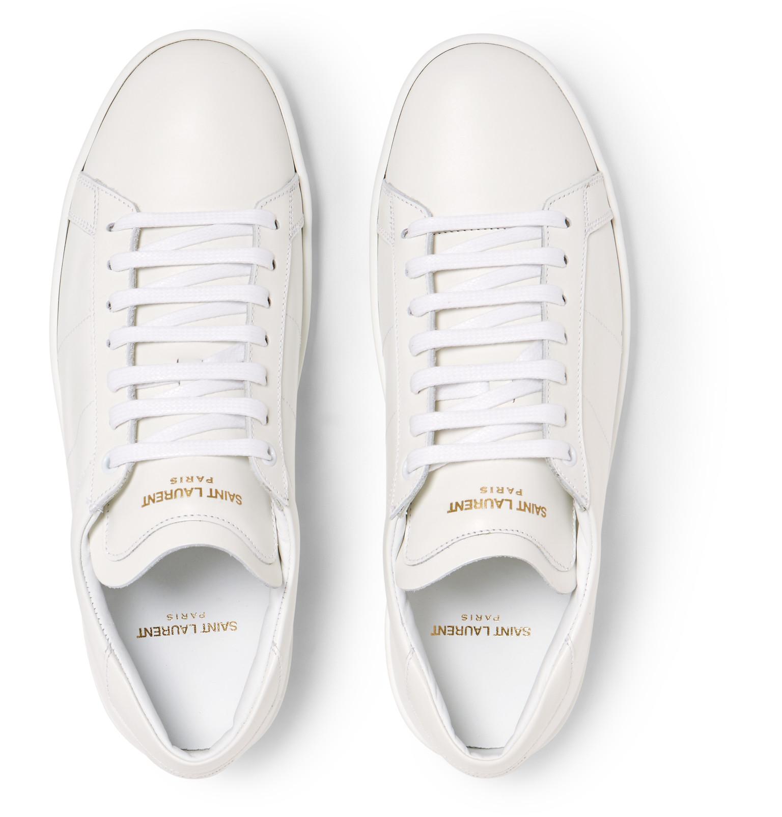 SL/01 leather sneakers Saint Laurent Jv8Pl
