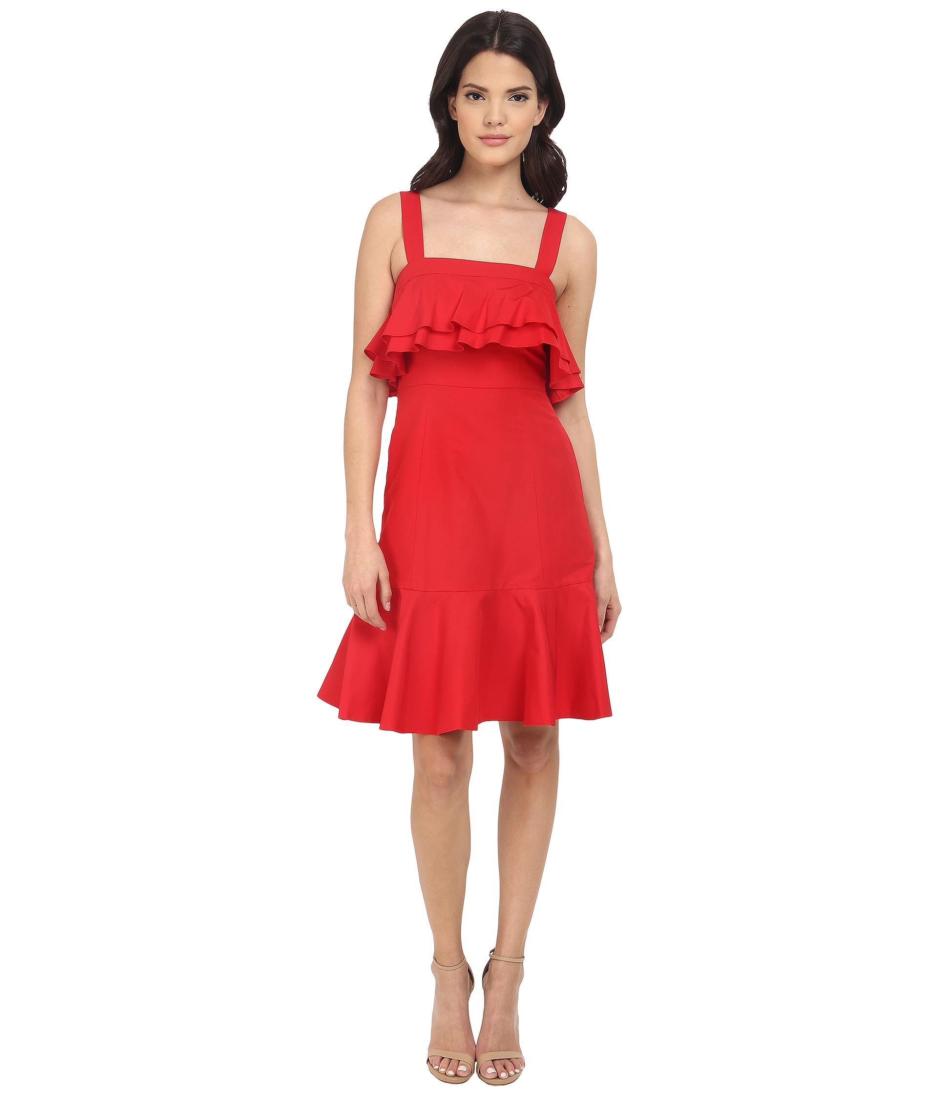 Jill stuart lace cotton sheath dress