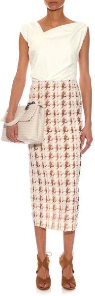Ricci Panelled Midi Dress