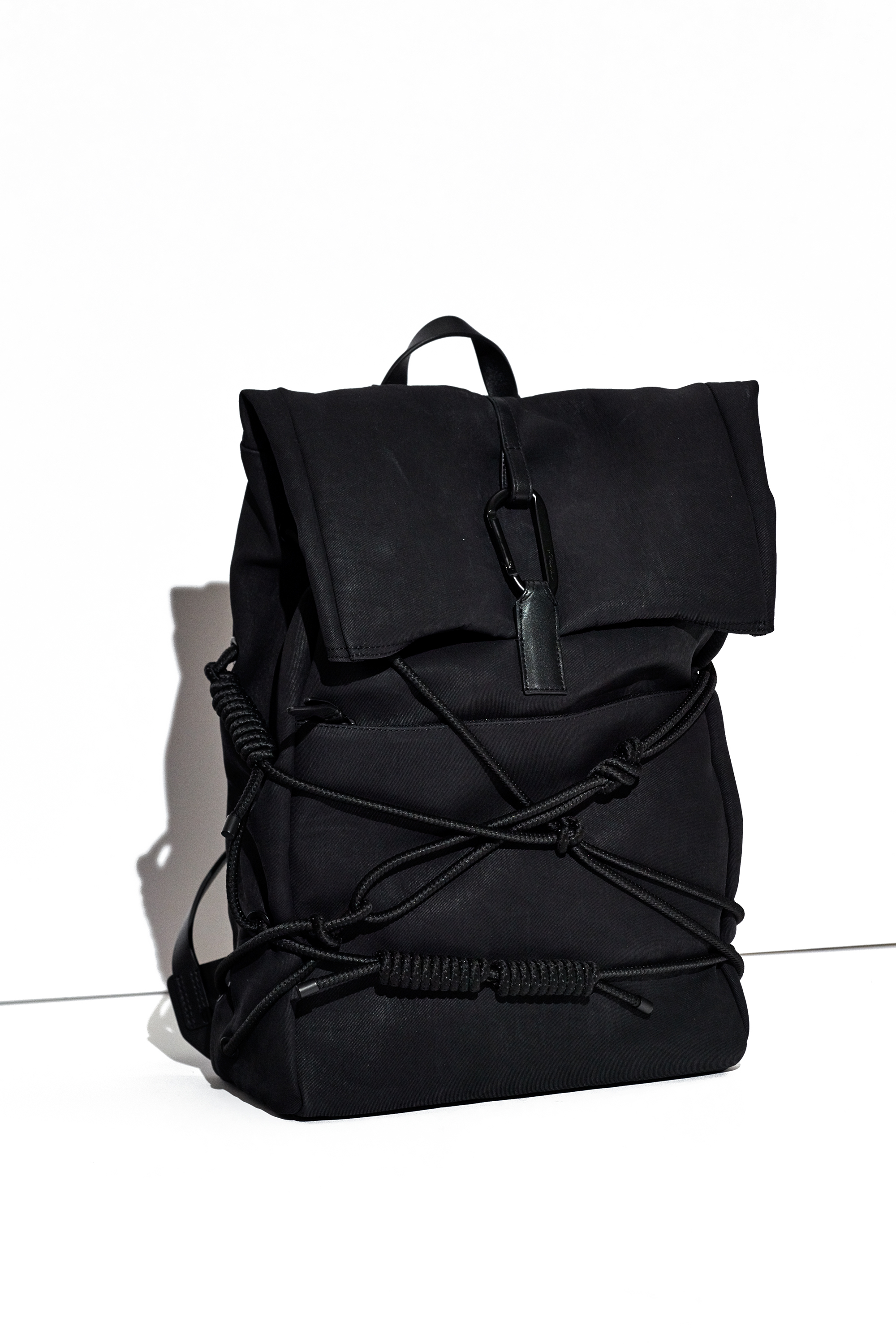 3.1 phillip lim Alpine Roll Top Backpack in Black for Men | Lyst