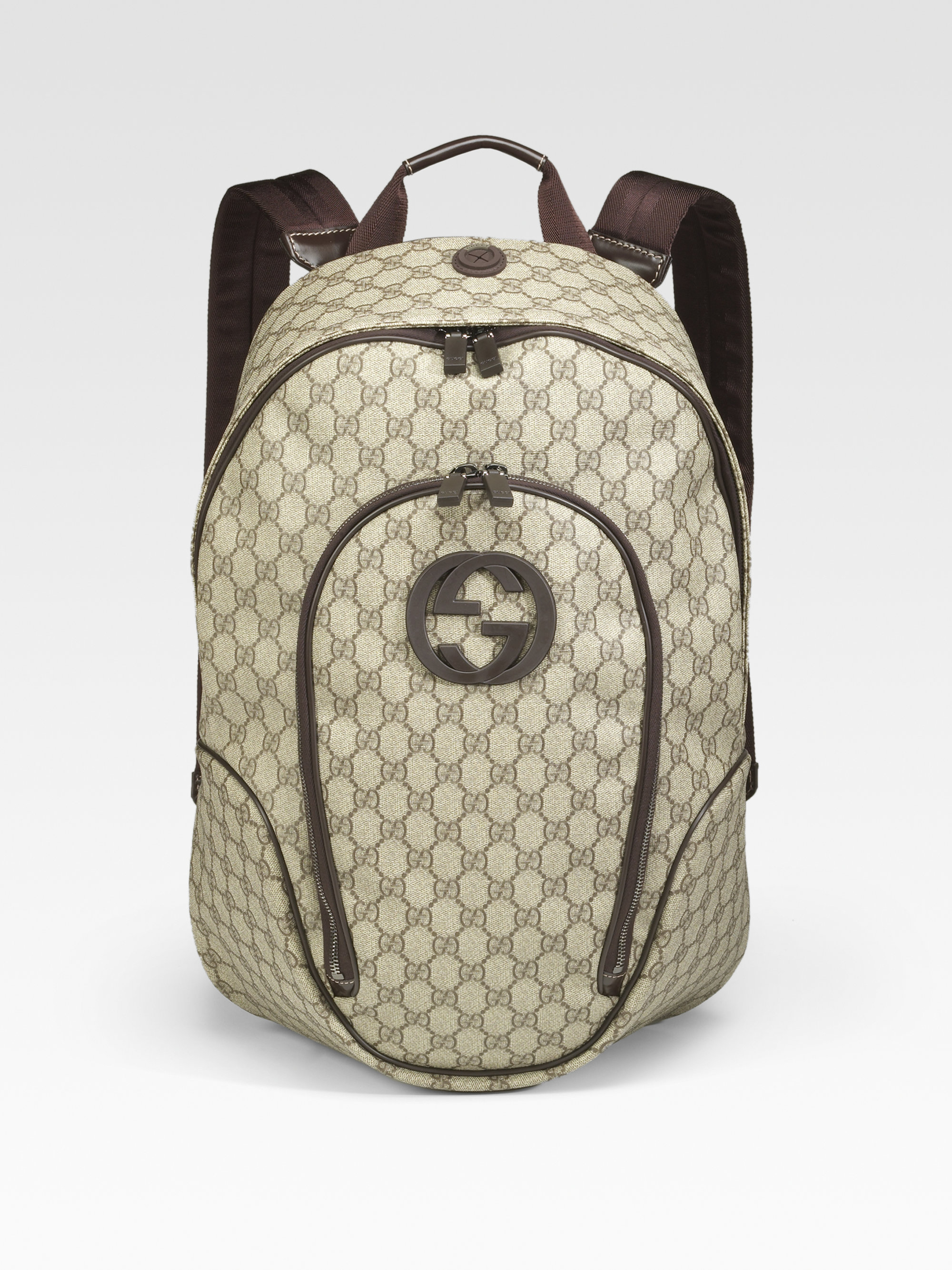 f4da04459b67bf Gucci Gg Plus Backpack in Natural for Men - Lyst