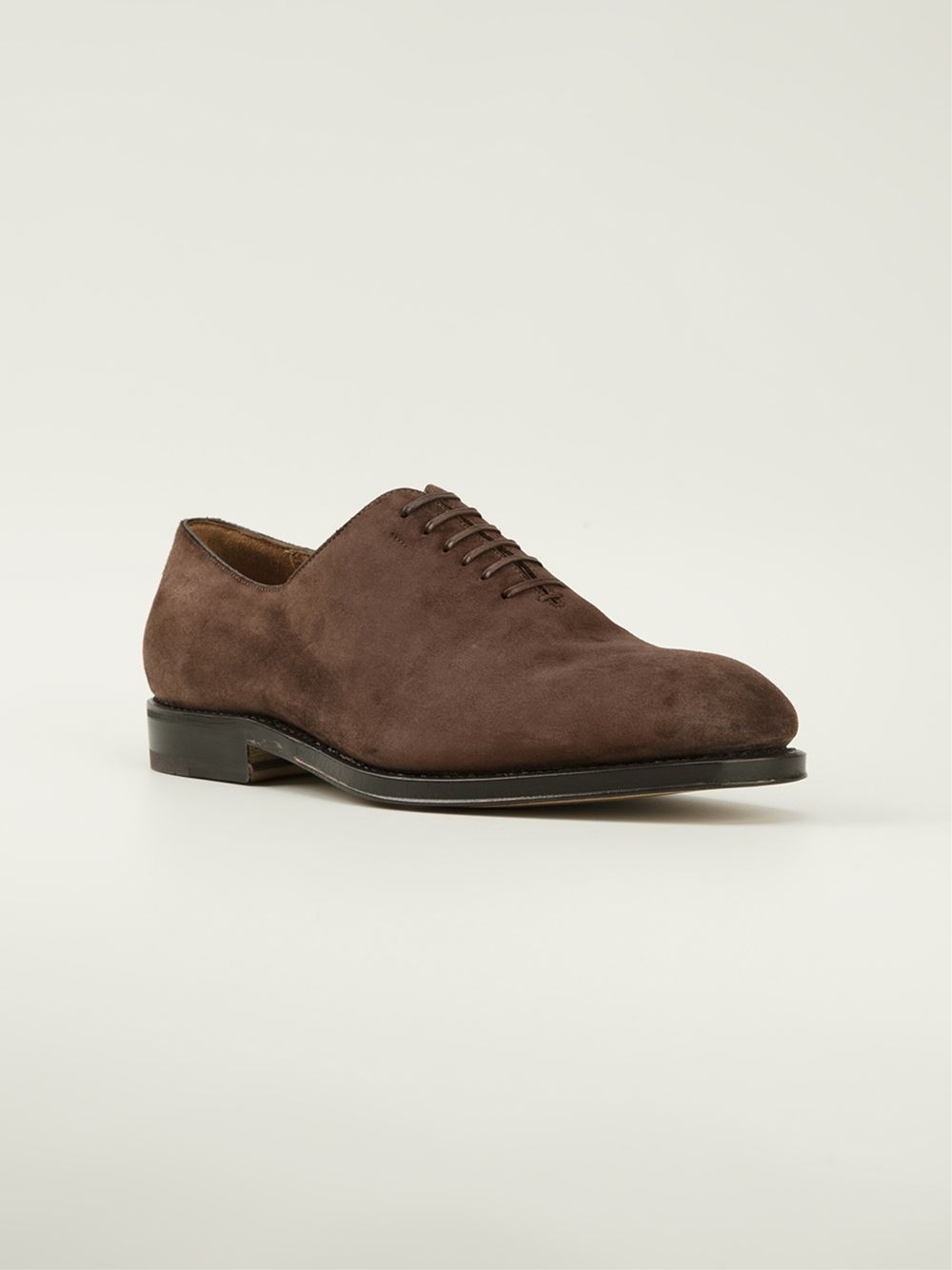 Salvatore Ferragamo Borg Lace Up Shoe