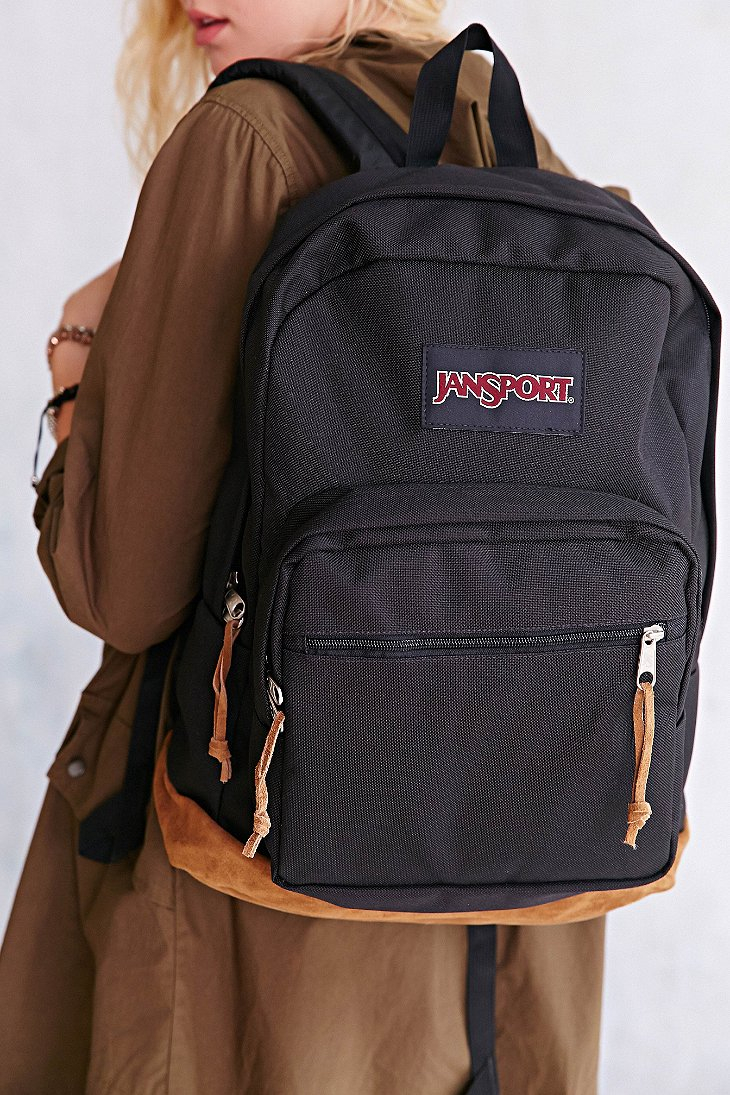 Lyst - Jansport Right Pack Backpack in Black