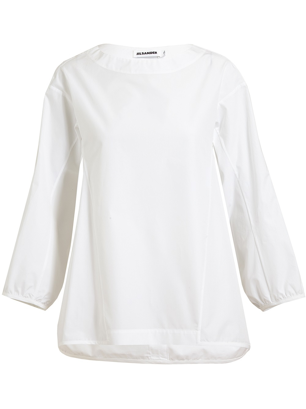 Cotton and silk top Jil Sander 100% Guaranteed For Sale Free Shipping Geniue Stockist Free Shipping High Quality 2018 Cool Discount Amazing Price urrQoC