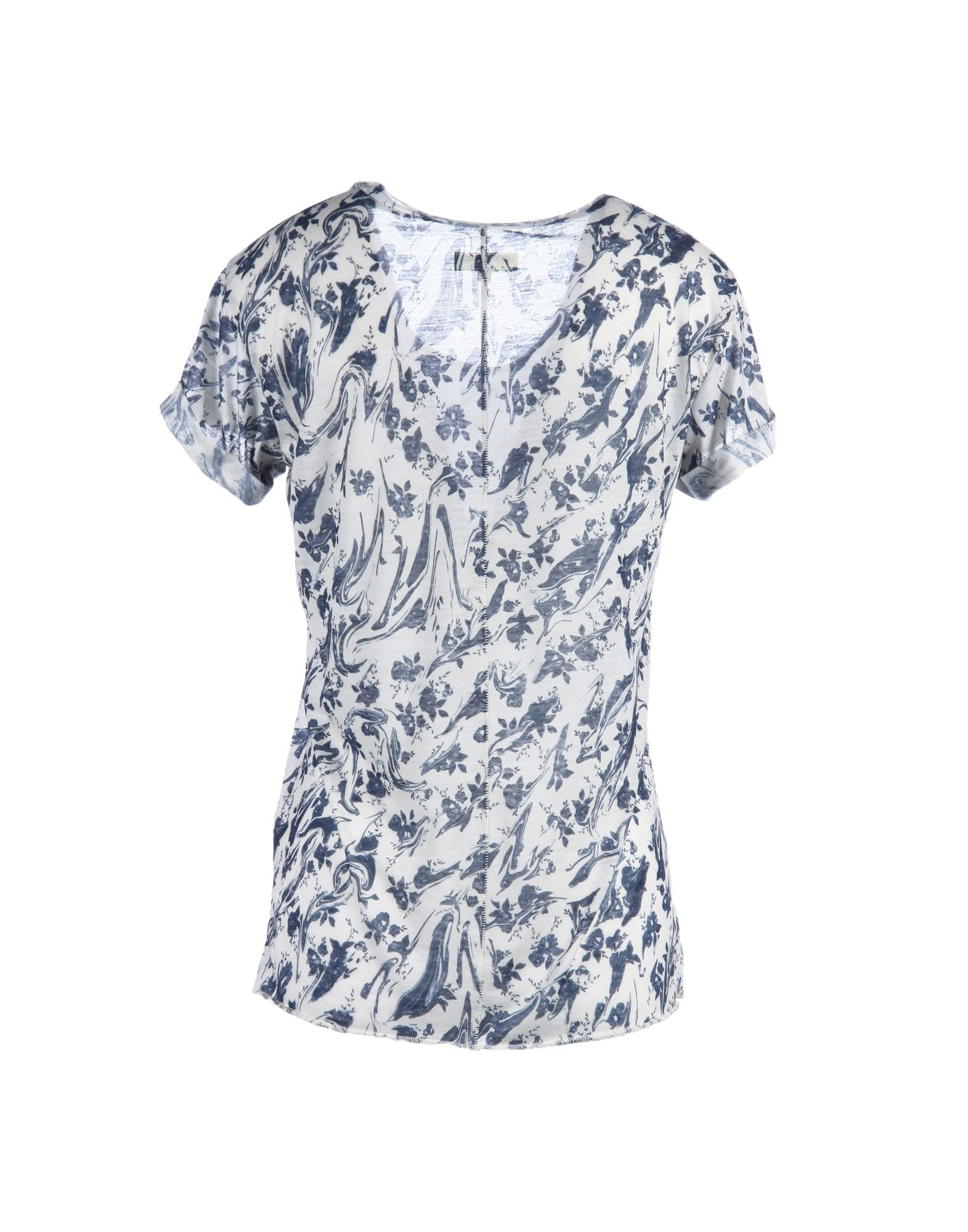rag bone t shirt in blue lyst