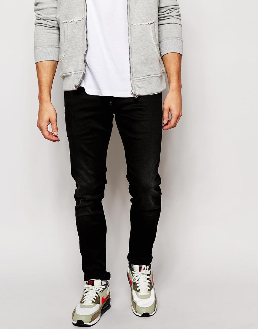lyst g star raw jeans defend super slim skinny fit. Black Bedroom Furniture Sets. Home Design Ideas