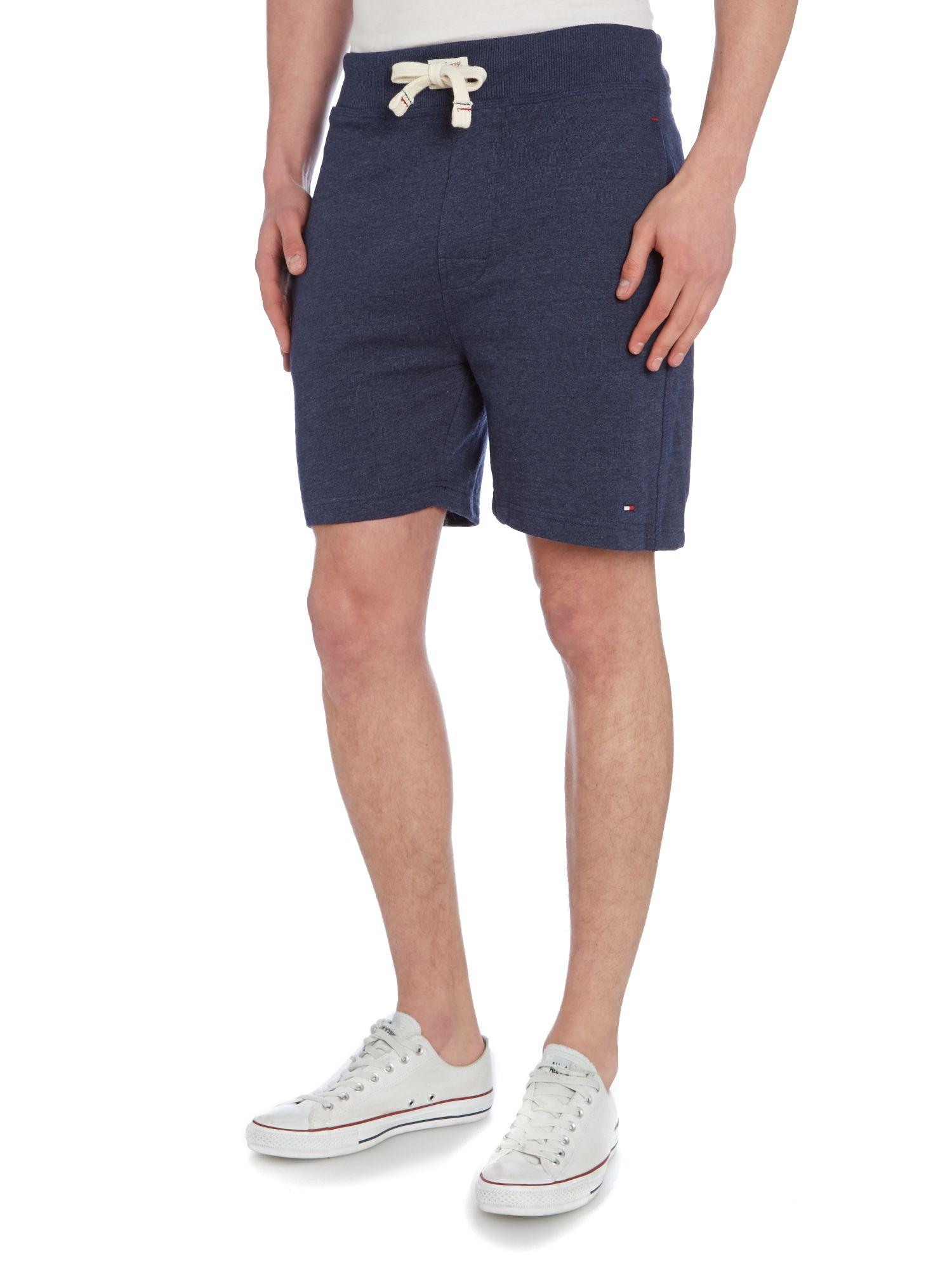 Tommy hilfiger Plain Nightwear Sweat Shorts in Blue for Men | Lyst