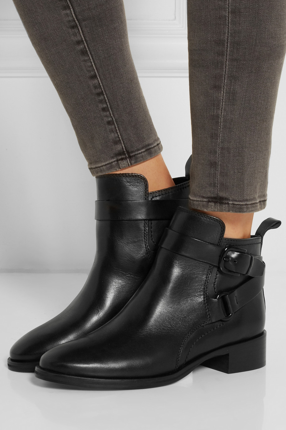 McQ Leather Boots TGt251