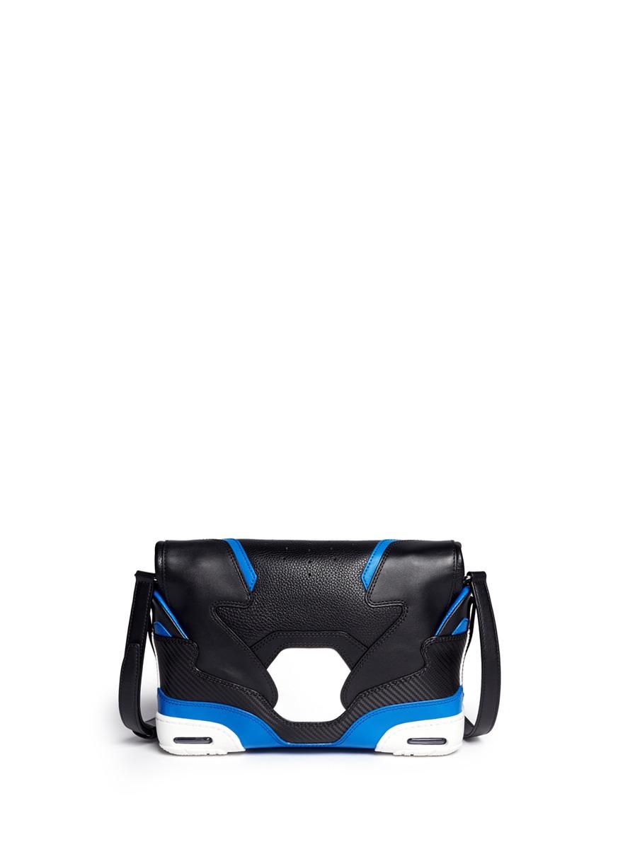 wang sneaker large leather shoulder bag lyst