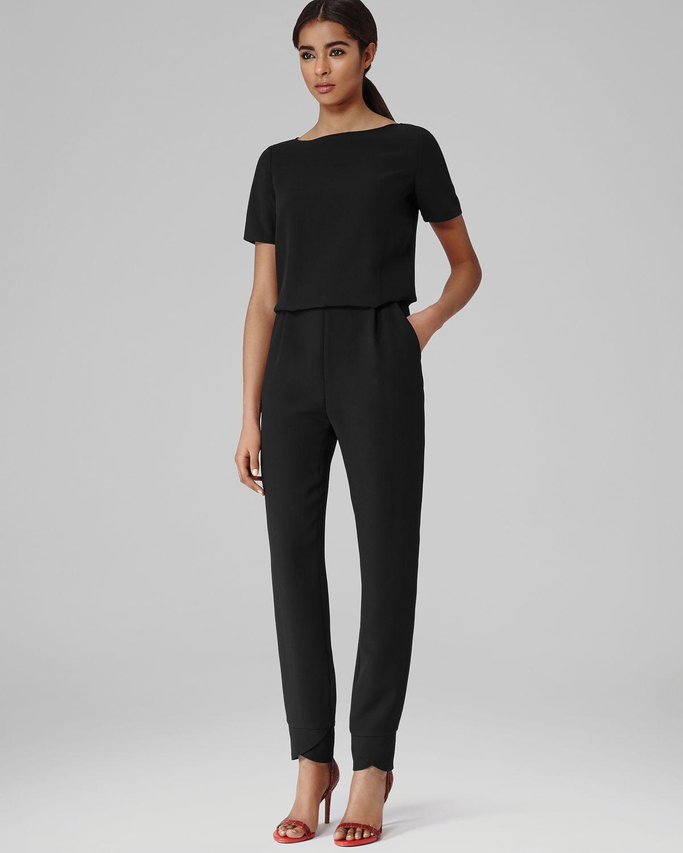 Black Short Sleeve Jumpsuit Photo Album - Reikian