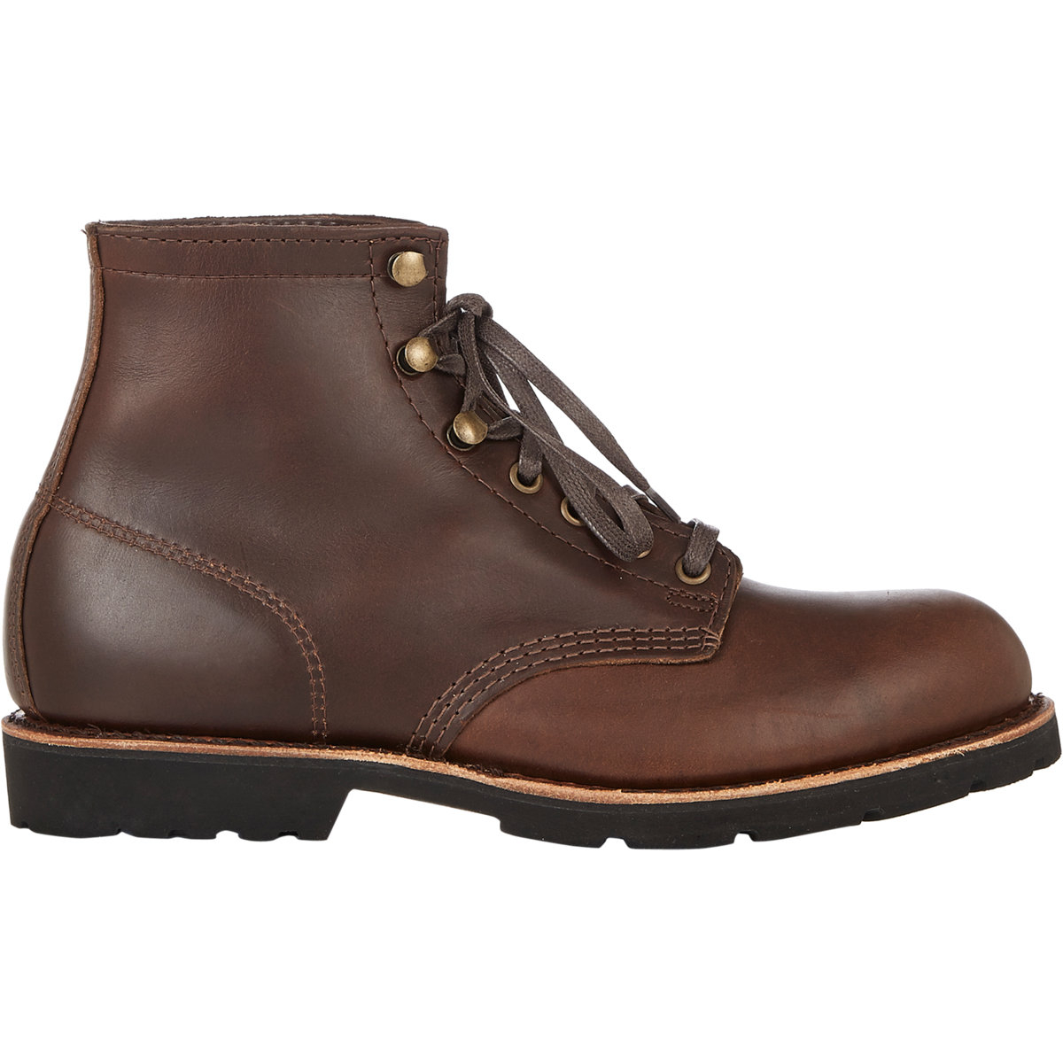 hh brown shoe company s lace up eddard boots in brown