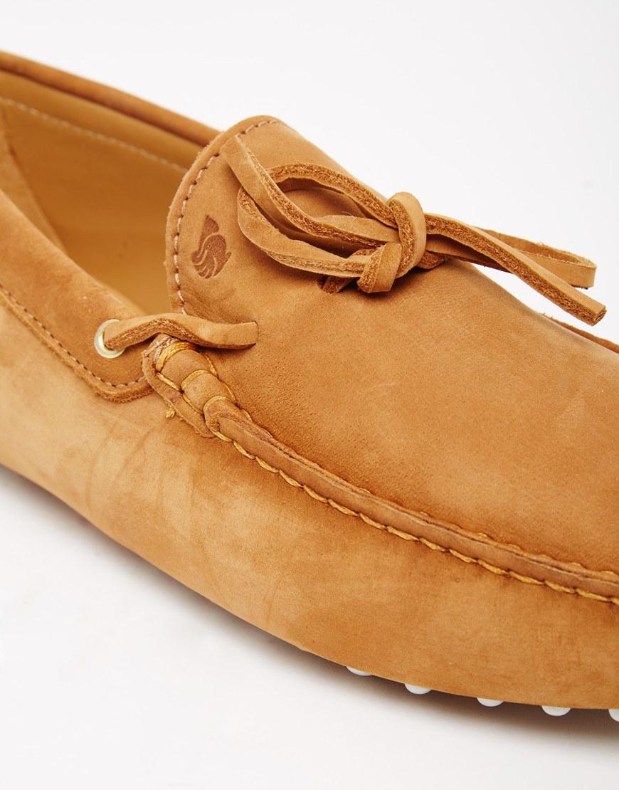 657889a744e Lyst - Bobbies Le Magnifique Suede Driving Shoe - Tan in Brown for Men