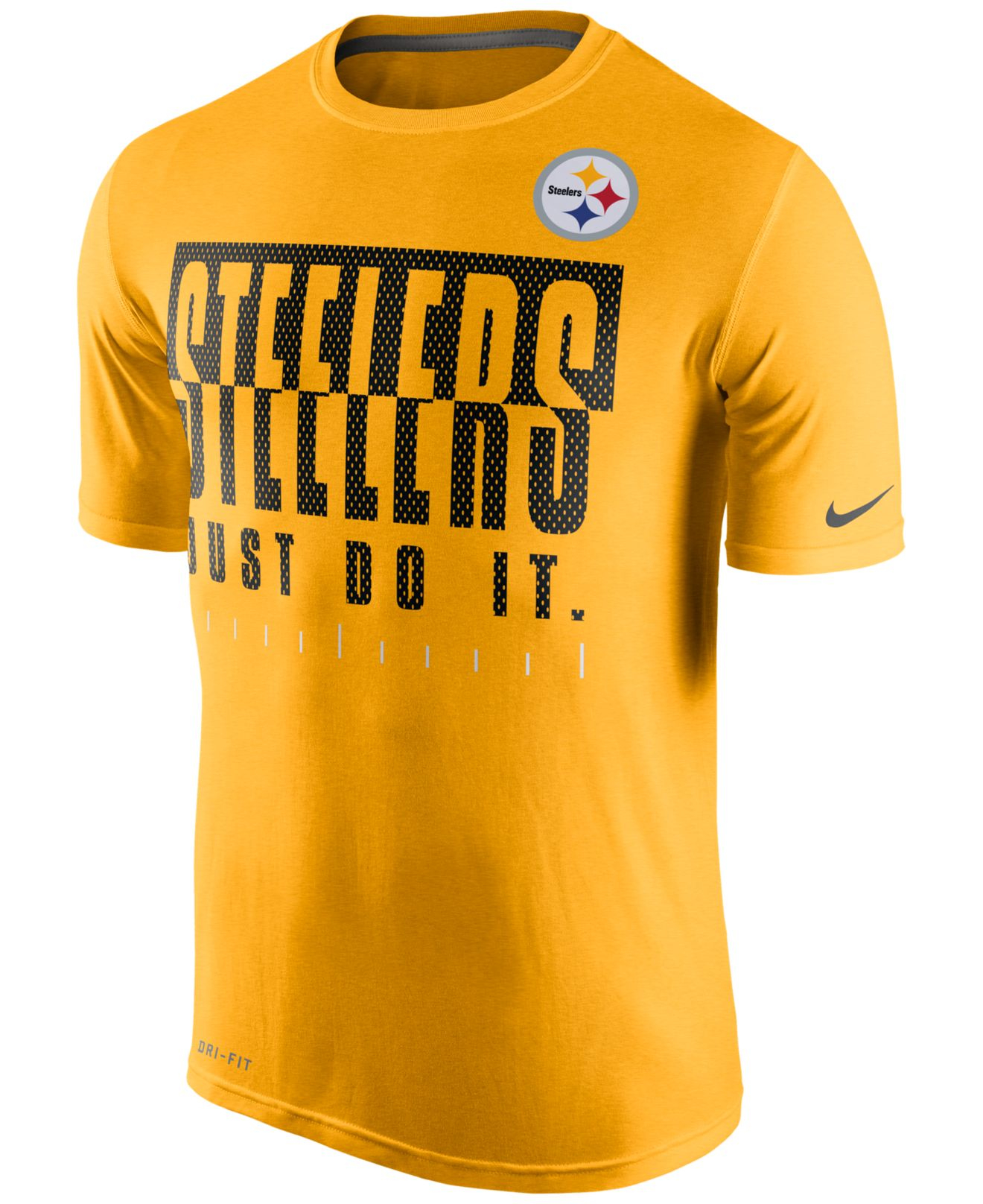 2f8d52d3 ... Nike Mens Pittsburgh Steelers Just Do It Legend T-shirt in Y . ...