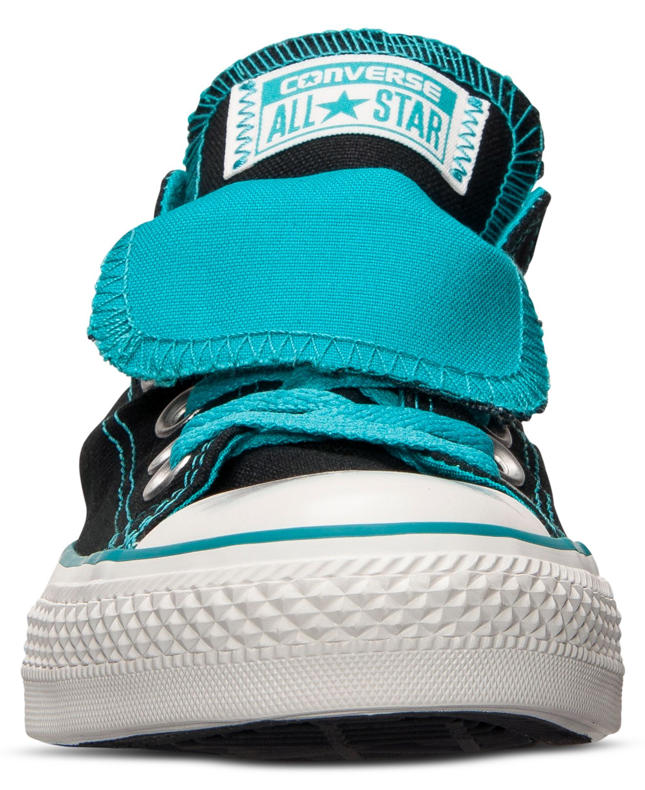 Lyst - Converse Women S Chuck Taylor All Star Double Tongue Casual ... 67cd3c366