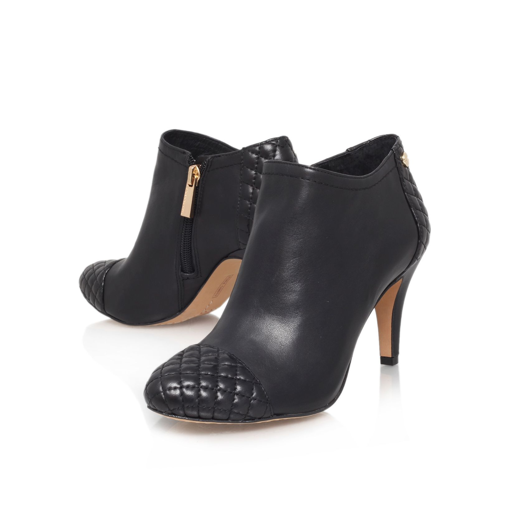 Vince Camuto Valentina High Heel Ankle Boots In Black Lyst