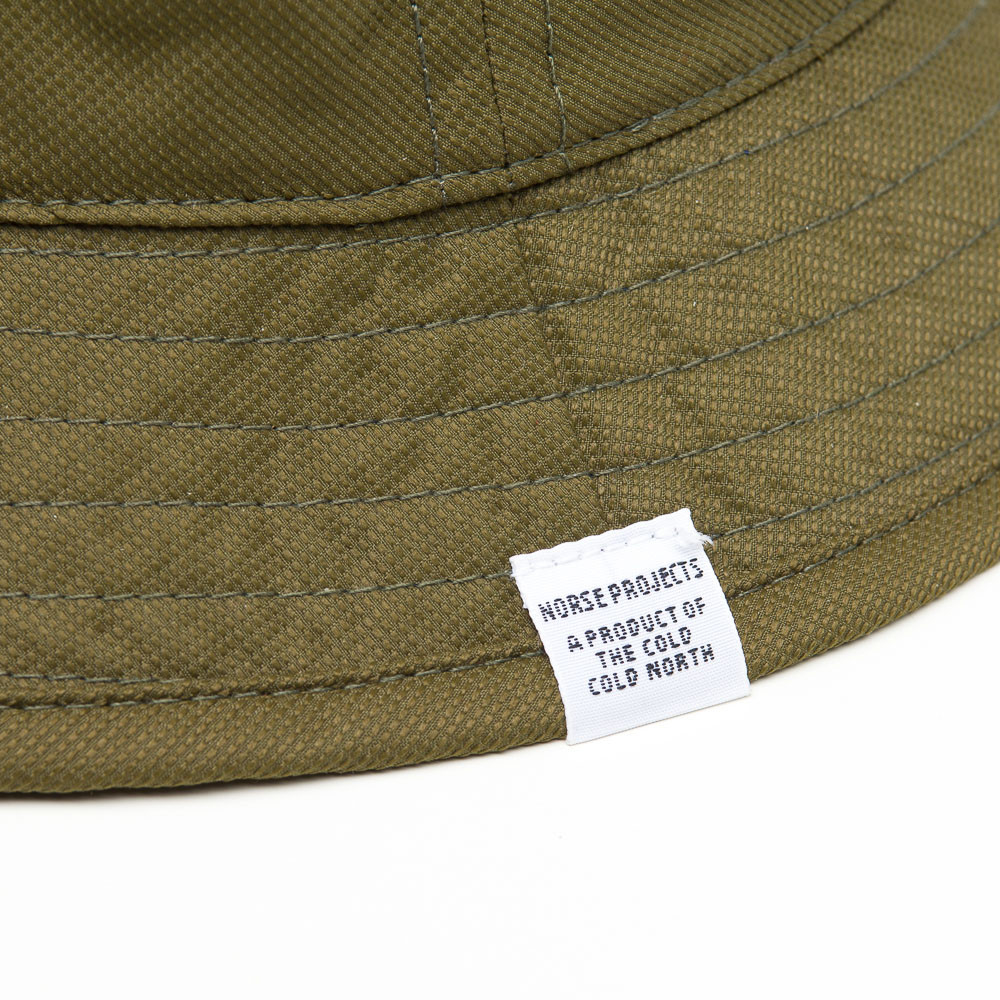 dfc4f15a8abc6 Lyst - Norse Projects Foldable Light Ripstop Bucket Hat in Green for Men