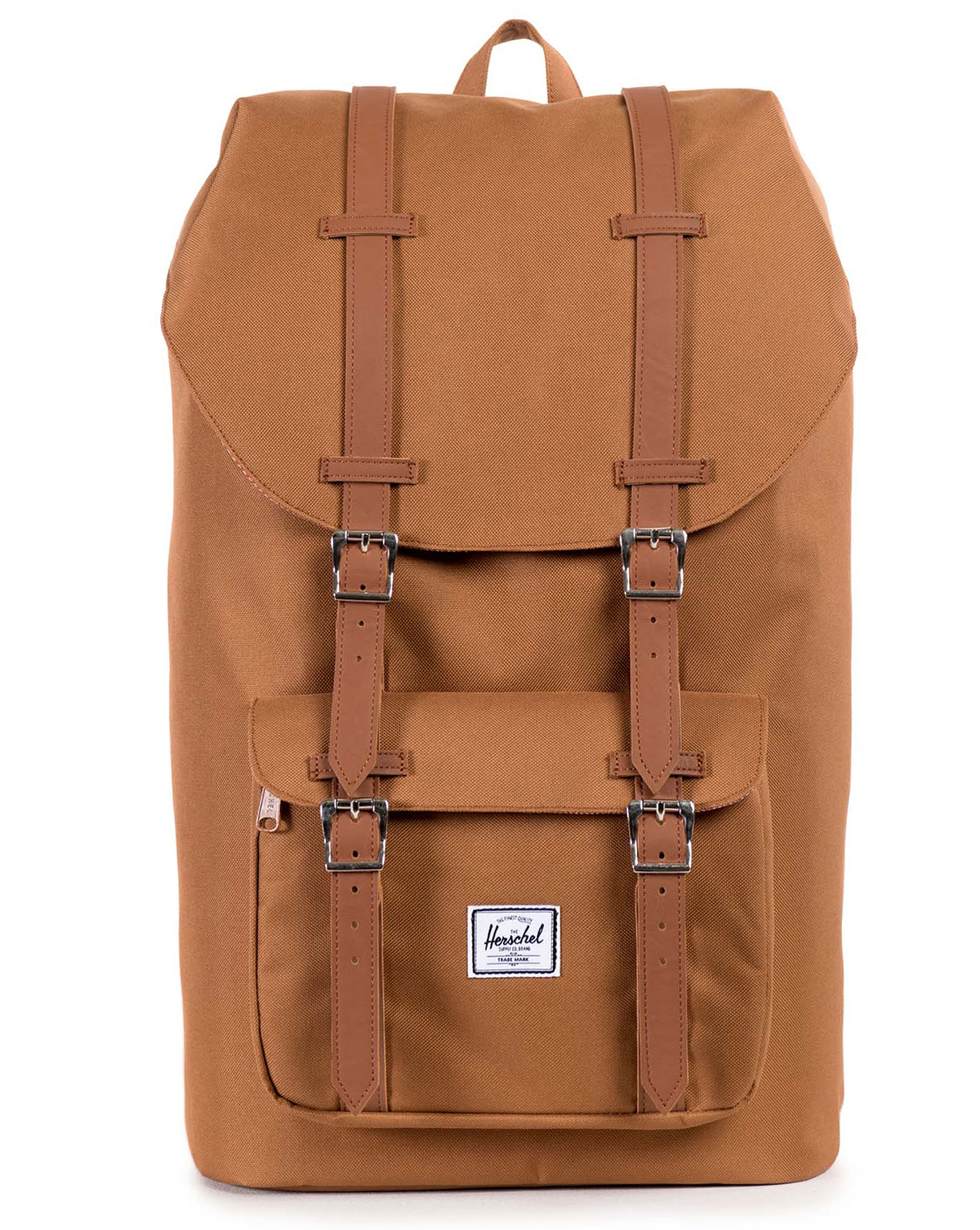herschel supply co camel little america backpack 25 l in beige for men camel save 18 lyst. Black Bedroom Furniture Sets. Home Design Ideas