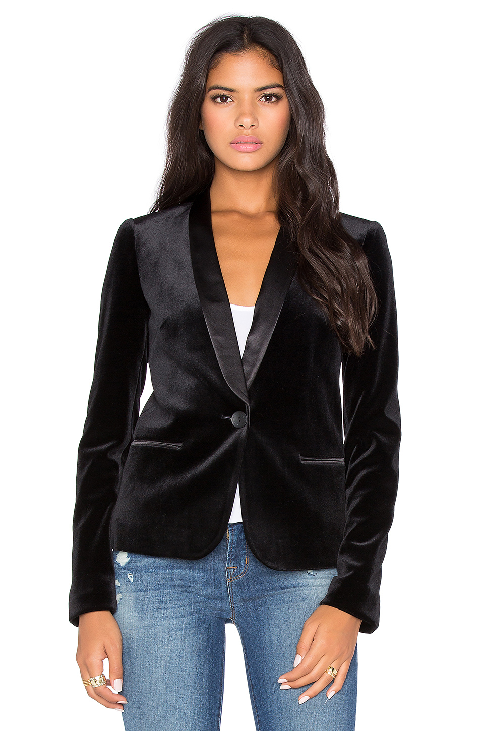 657056e86ad04 Lyst - James Jeans Tuxedo Jacket in Black