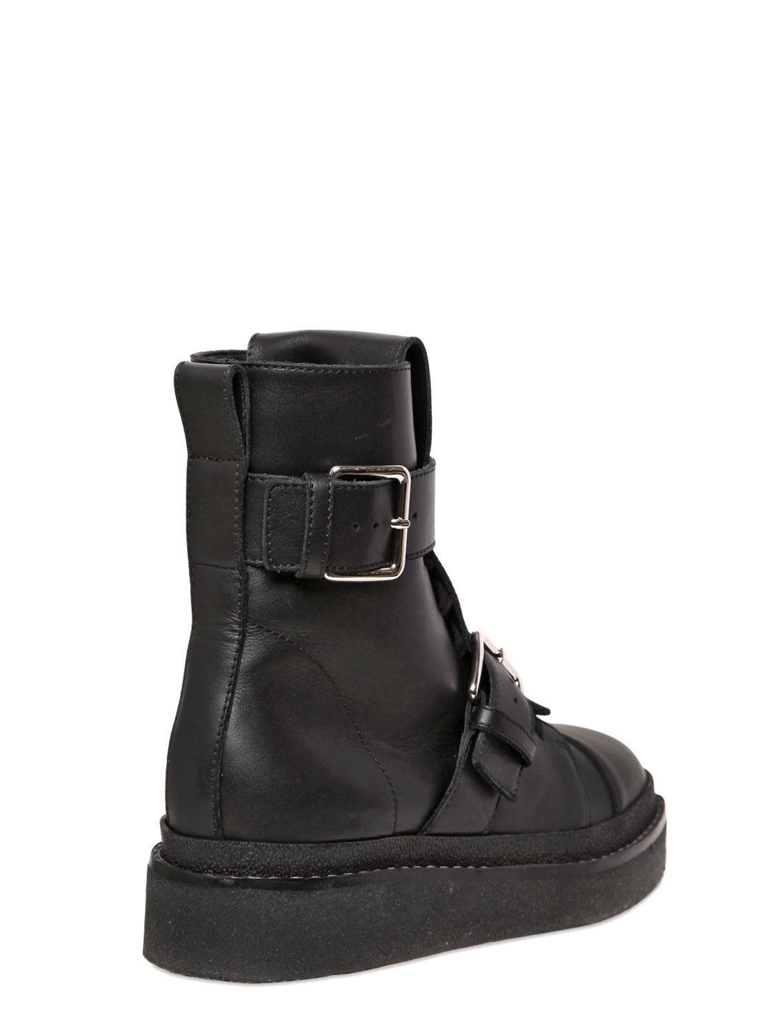 Sale Pay With Paypal Best Seller Marni Leather Biker Boots a0YF3d