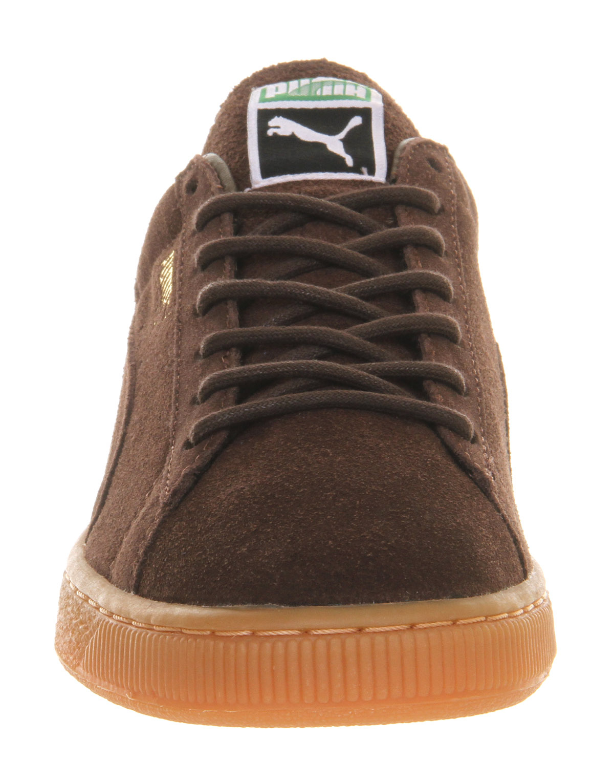 puma suede classic in brown for men lyst