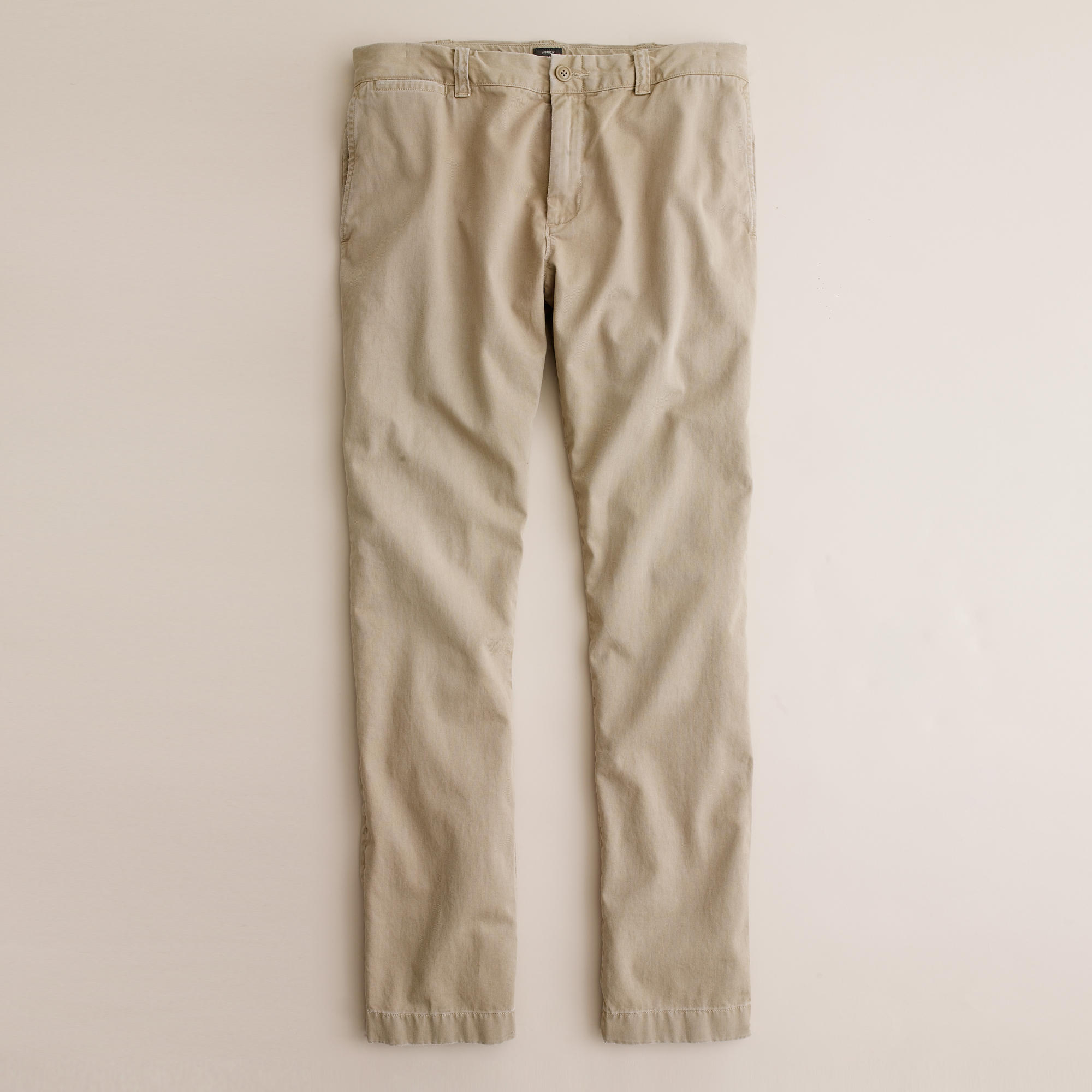 j crew sun faded chino in 484 fit in khaki for dusty